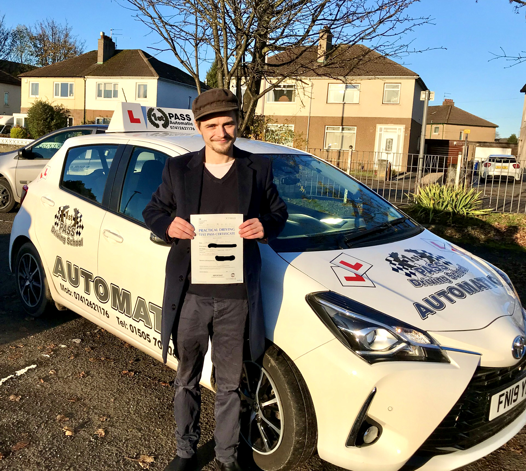 Chris - took driving lessons with 1st Pass Driving School – Renfrewshire's Automatic Driving School